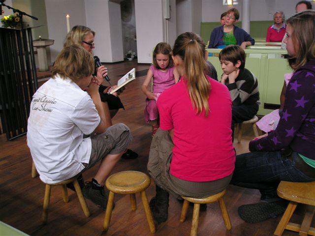kinderen in de kerk